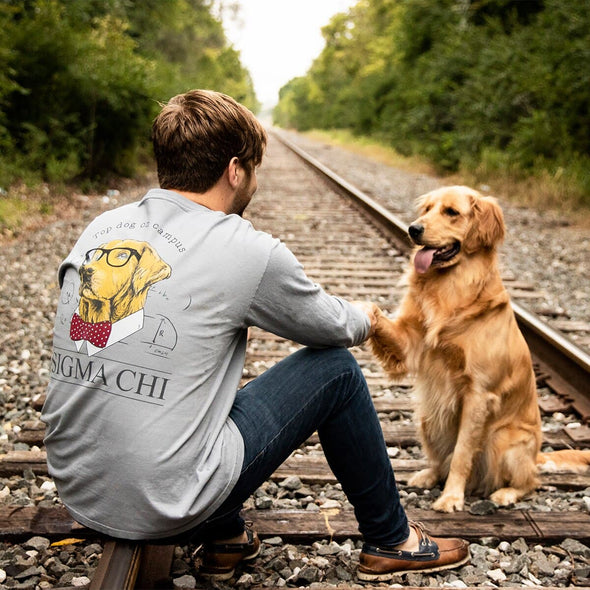 TKE Comfort Colors Campus Retriever Pocket Tee