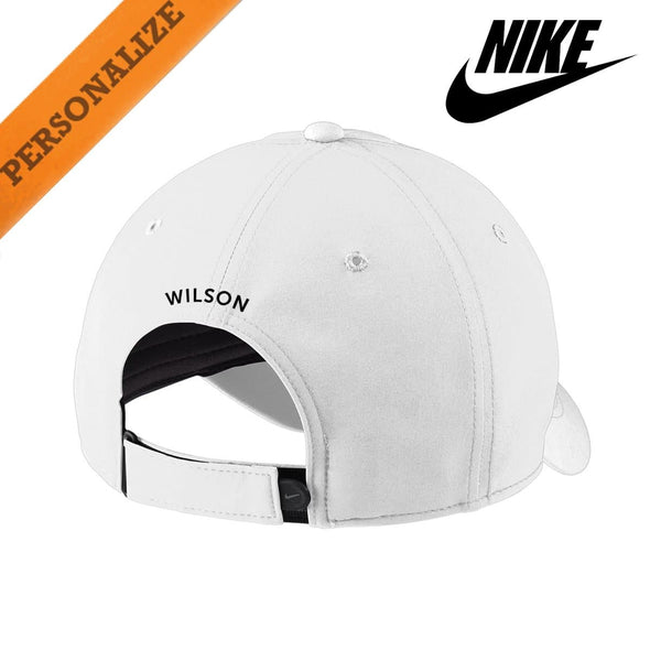 AGR Personalized White Nike Dri-FIT Performance Hat