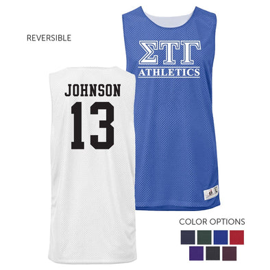 Sig Tau Personalized Intramural Athletics Reversible Mesh Tank