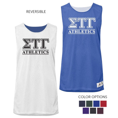 Sig Tau Intramural Athletics Reversible Mesh Tank