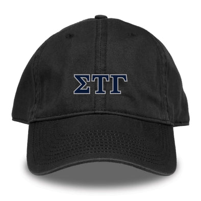 New! Sig Tau Black Hat by The Game