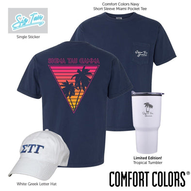 New! Sig Tau Tropical Bundle