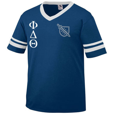 Clearance! Phi Delt Retro Jersey Tee