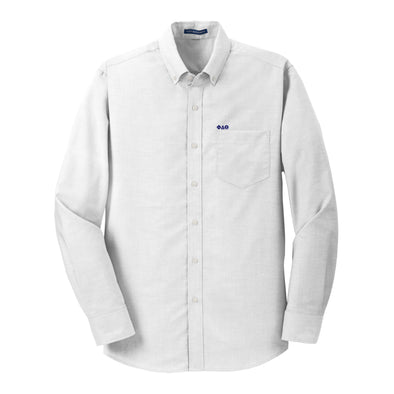 Sale! Phi Delt White Button Down Shirt