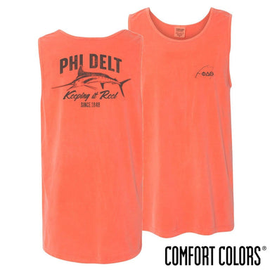Phi Delt Keep It Reel Comfort Colors Tank