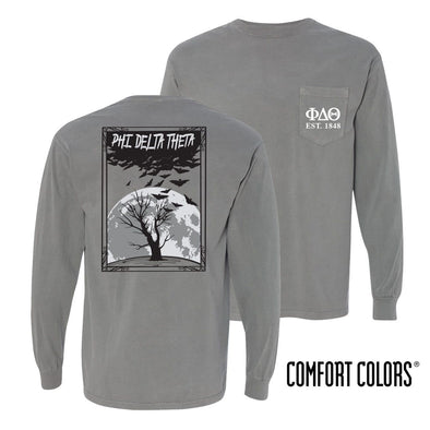 Phi Delt Halloween Night Comfort Colors Tee