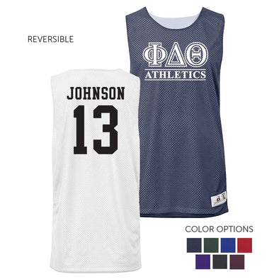 Phi Delt Personalized Intramural Athletics Reversible Mesh Tank