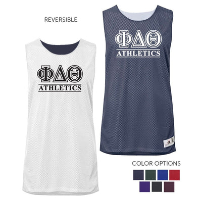 Phi Delt Intramural Athletics Reversible Mesh Tank