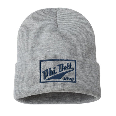 Phi Delt Classic Knit Beanie