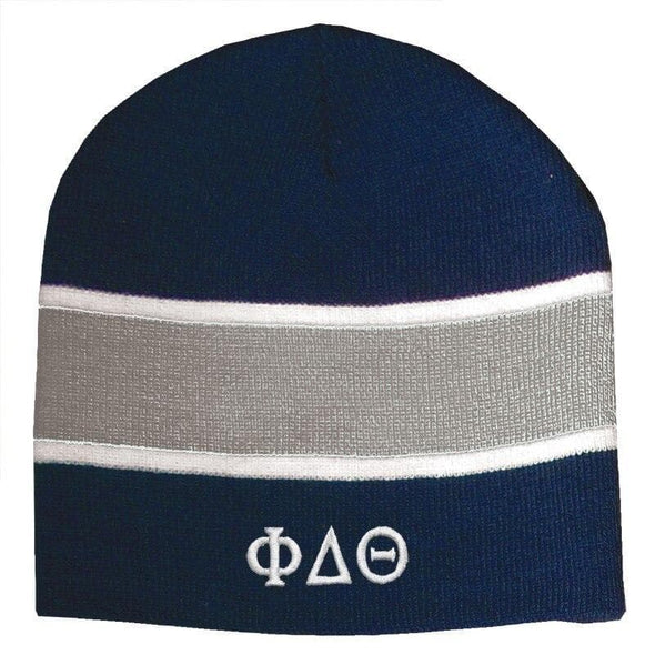 Sale! Phi Delt Navy & Charcoal Beanie