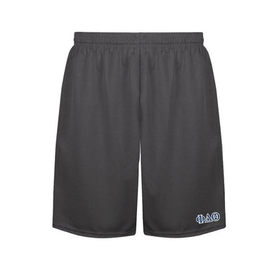 Phi Delt Charcoal Performance Shorts