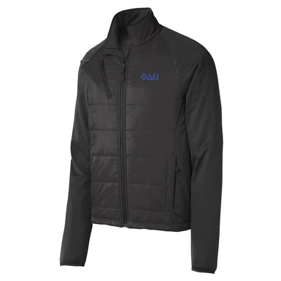 Sale! Phi Delt Hybrid Soft Shell Jacket