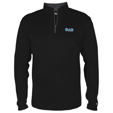 Clearance! Phi Delt Ultra Lightweight Performance 1/4 Zip