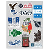 Phi Delt Sticker Sheet
