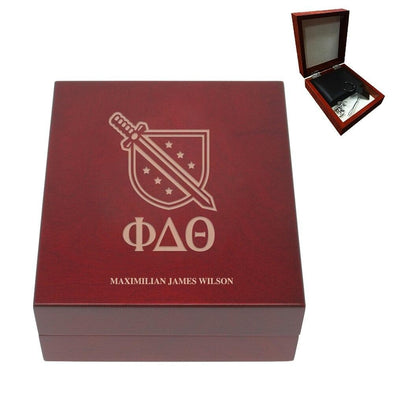Sale! Phi Delt Personalized Rosewood Box