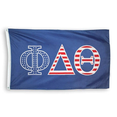 Phi Delt Stars and Stripes Flag