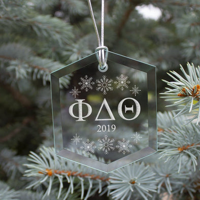 New! Phi Delt 2019 Limited Edition Holiday Ornament