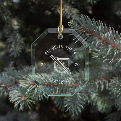 New! Phi Delt 2020 Limited Edition Holiday Ornament