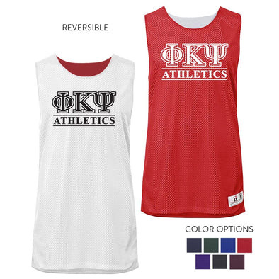 Phi Psi Intramural Athletics Reversible Mesh Tank