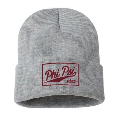 Phi Psi Classic Knit Beanie