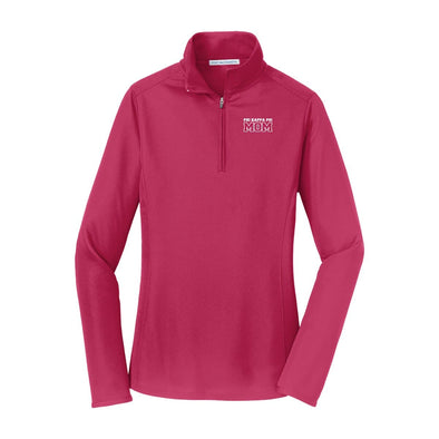 Phi Psi Mom Pink Performance 1/4 Zip