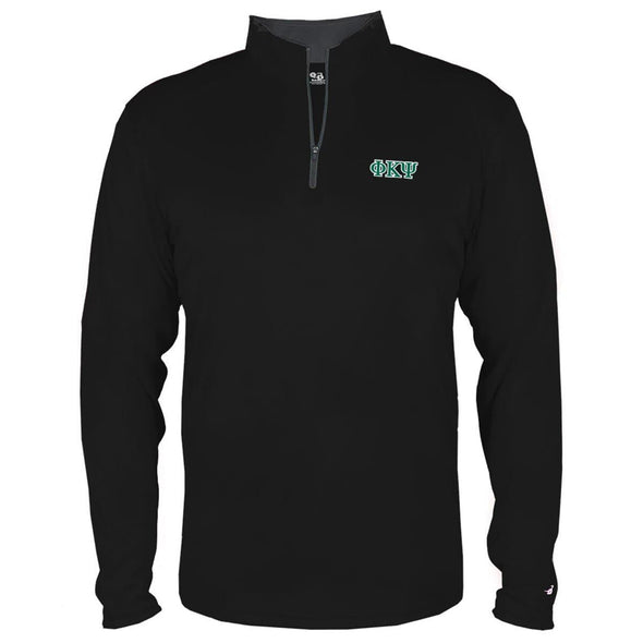 Clearance! Phi Psi Ultra Lightweight Performance 1/4 Zip