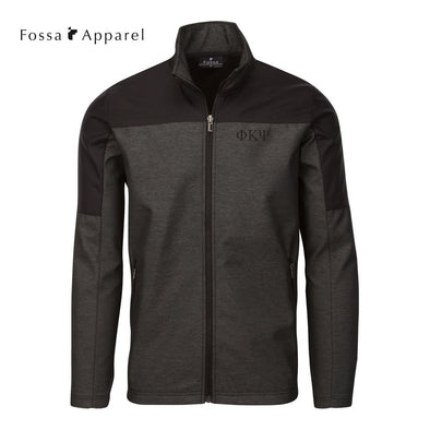 Phi Psi Fossa Slate Soft Shell Jacket