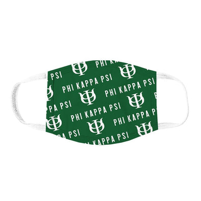 Phi Psi Patterned Face Mask