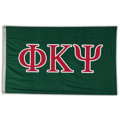 Phi Psi Greek Letter Banner