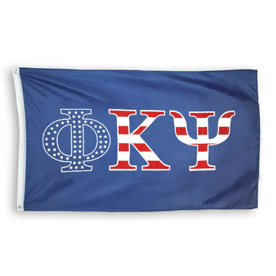 Phi Psi Stars and Stripes Flag