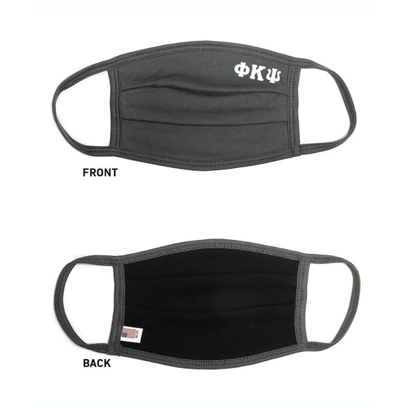 Phi Psi Paneled Face Mask