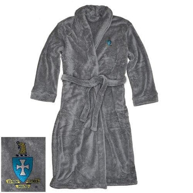 Sale! Sigma Chi Charcoal Ultra Soft Robe