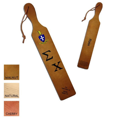 Sigma Chi Personalized Traditional Paddle