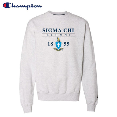New! Sigma Chi Alumni Champion Crewneck