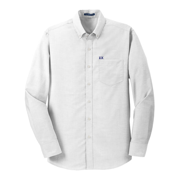 Clearance! Sigma Chi White Button Down Shirt
