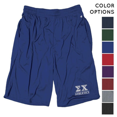 Sigma Chi Intramural Athletics Pocketed Performance Shorts