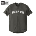 Sigma Chi New Era Graphite Baseball Jersey