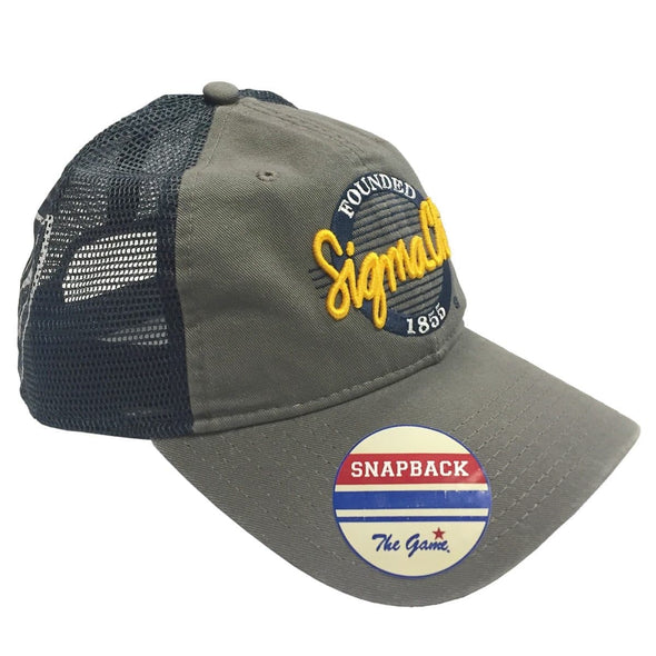 Clearance! Sigma Chi Mesh Trucker Hat By The Game®