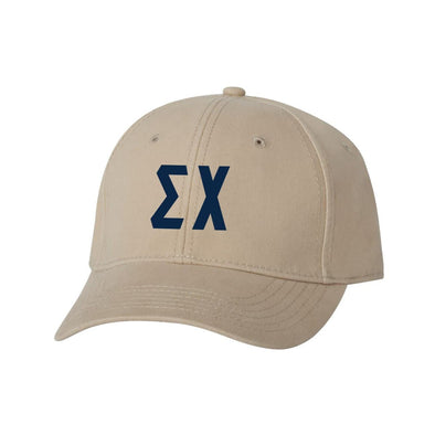 Sigma Chi Structured Greek Letter Hat