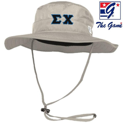 Sigma Chi Stone Boonie Hat By The Game ®