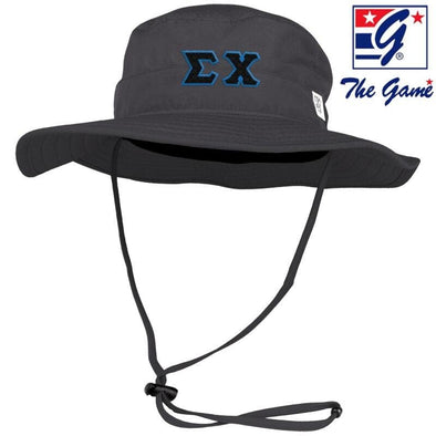 Sigma Chi Charcoal Boonie Hat By The Game ®