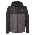 Sigma Chi Color-Block Letter Windbreaker