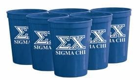 Sigma Chi Royal Plastic Cup