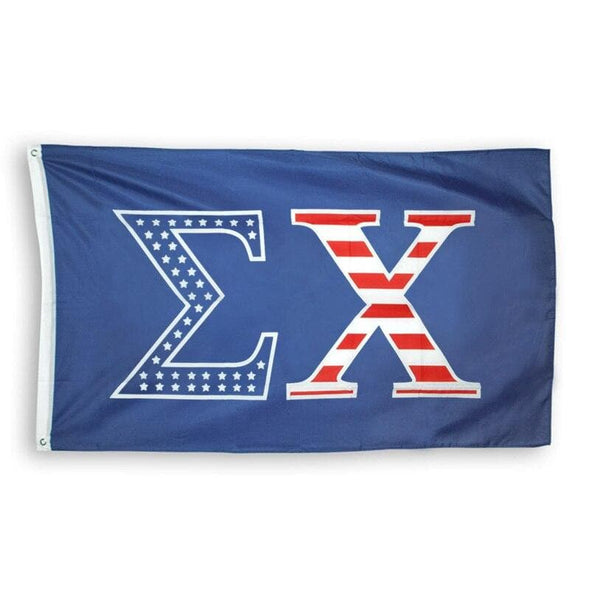 Sigma Chi Stars and Stripes Flag