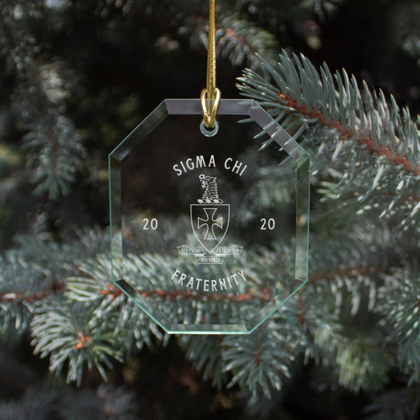 New! Sigma Chi 2020 Limited Edition Holiday Ornament