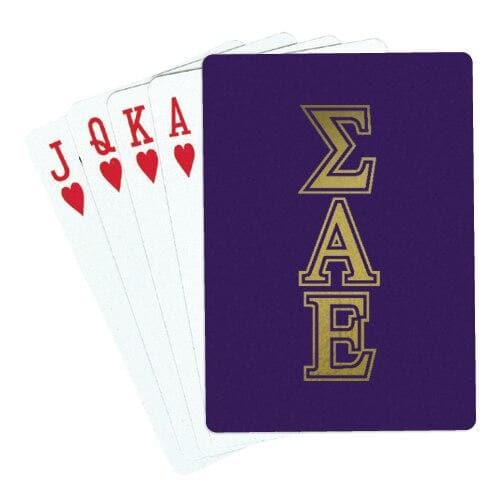 SAE Playing Cards