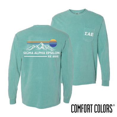 New Exclusive Item! SAE Comfort Colors Retro Mountain Tee