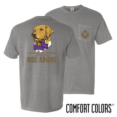 New Exclusive Item! SAE Comfort Colors Retriever Flag Tee