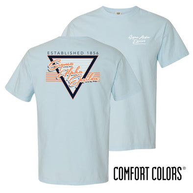 SAE Comfort Colors Retro Flash Tee