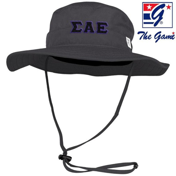 SAE Charcoal Boonie Hat By The Game ®